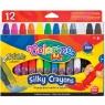 Kredki wykręcane żelowe Colorino Kids, 12 kolorów (36078PTR)
